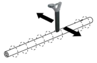 proximidades del cable
